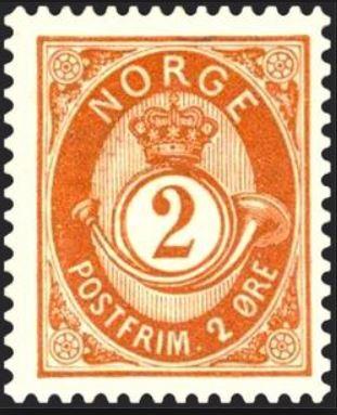 Das Posthorn auf Briefmarken Postho14