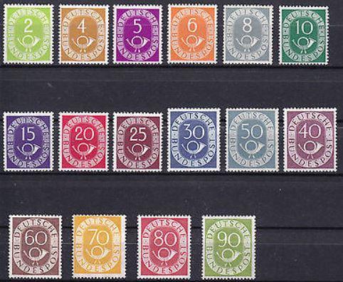 Das Posthorn auf Briefmarken Postho16