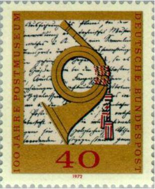 Das Posthorn auf Briefmarken Postho17