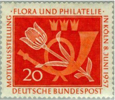 Das Posthorn auf Briefmarken Postho18
