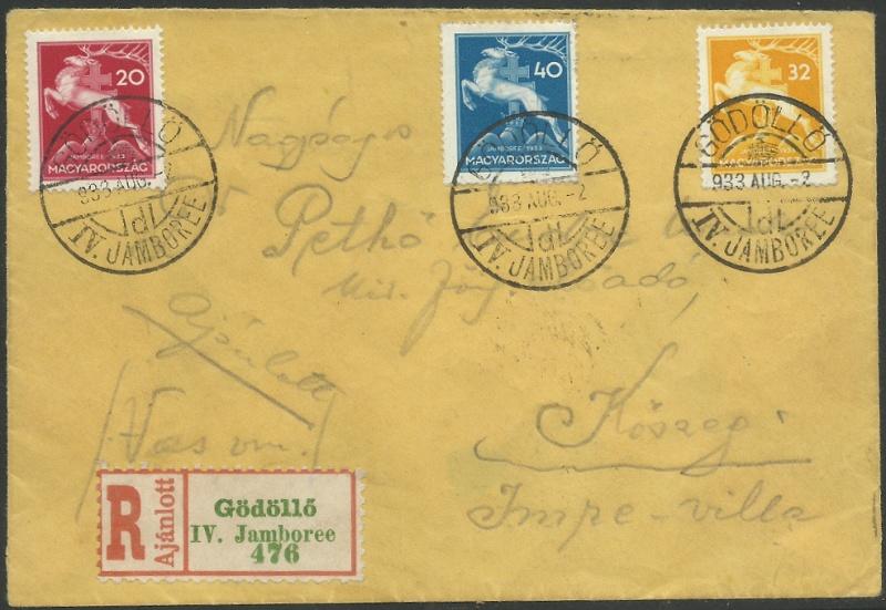 Pfadfinder Weltjamboree 1933 Rekoze10
