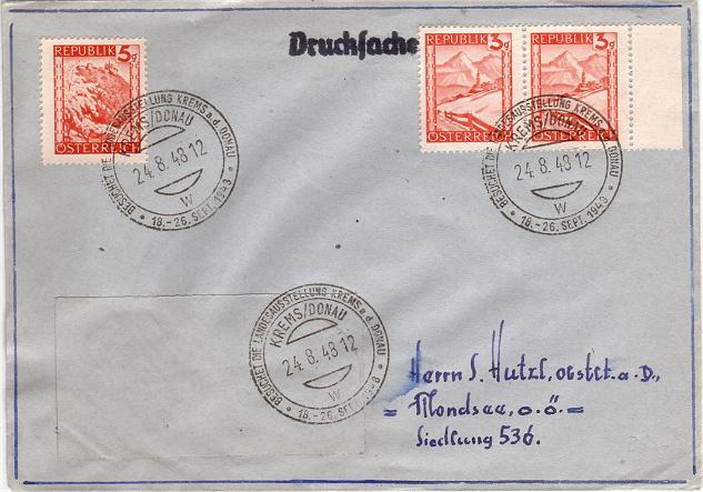 Orange Landschaft Österreich - Belege Rotela11
