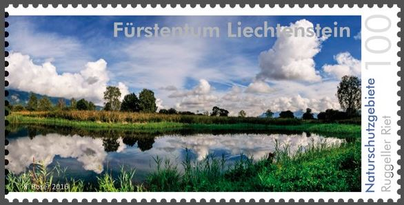 Liechtenstein 2016 - Ausgabetag 6. Juni Rugell11