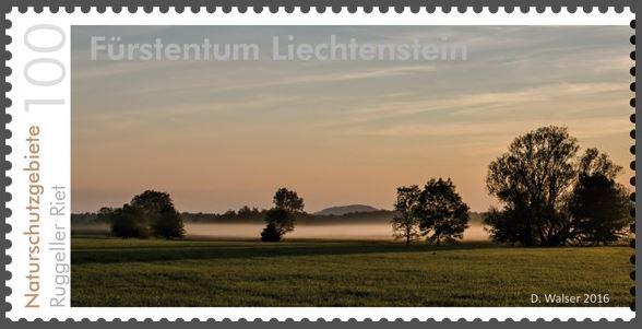 Liechtenstein 2016 - Ausgabetag 6. Juni Rugell12