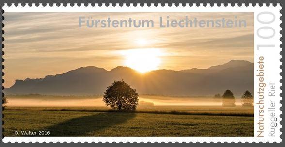 Liechtenstein 2016 - Ausgabetag 6. Juni Rugell13
