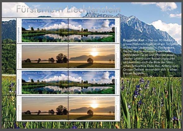Liechtenstein 2016 - Ausgabetag 6. Juni Rugell14