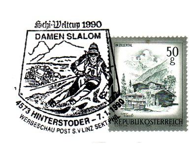 Schilauf - Sonderstempel Schibi12