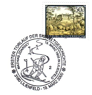 Schilauf - Sonderstempel Schibi13
