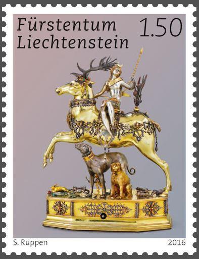 Liechtenstein 2016 - Ausgabetag 6. Juni Schytz11