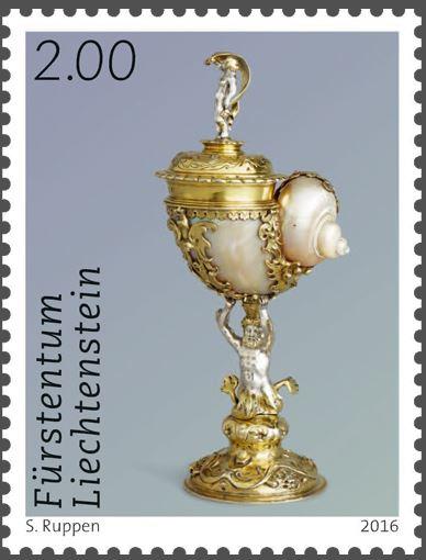Liechtenstein 2016 - Ausgabetag 6. Juni Schytz12