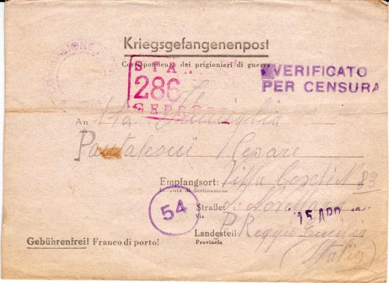 Kriegsgefangenenpost Stalag12