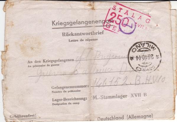 Kriegsgefangenenpost Stalag13