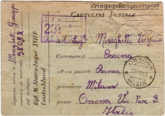 Kriegsgefangenenpost Stalag16