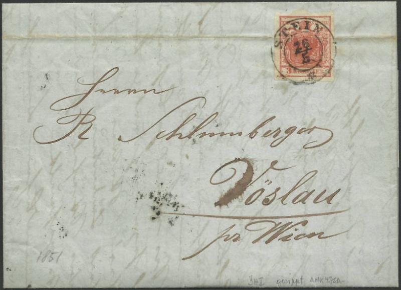 Die erste Österreichische Ausgabe 1850 - Seite 7 Stein_10