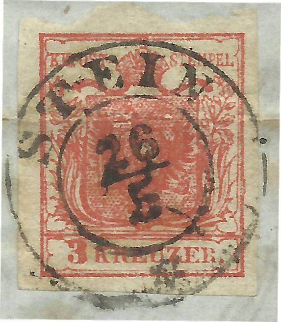 Die erste Österreichische Ausgabe 1850 - Seite 7 Stein_11