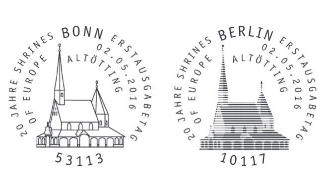 Ausgaben 2016 - Deutschland Stempe30
