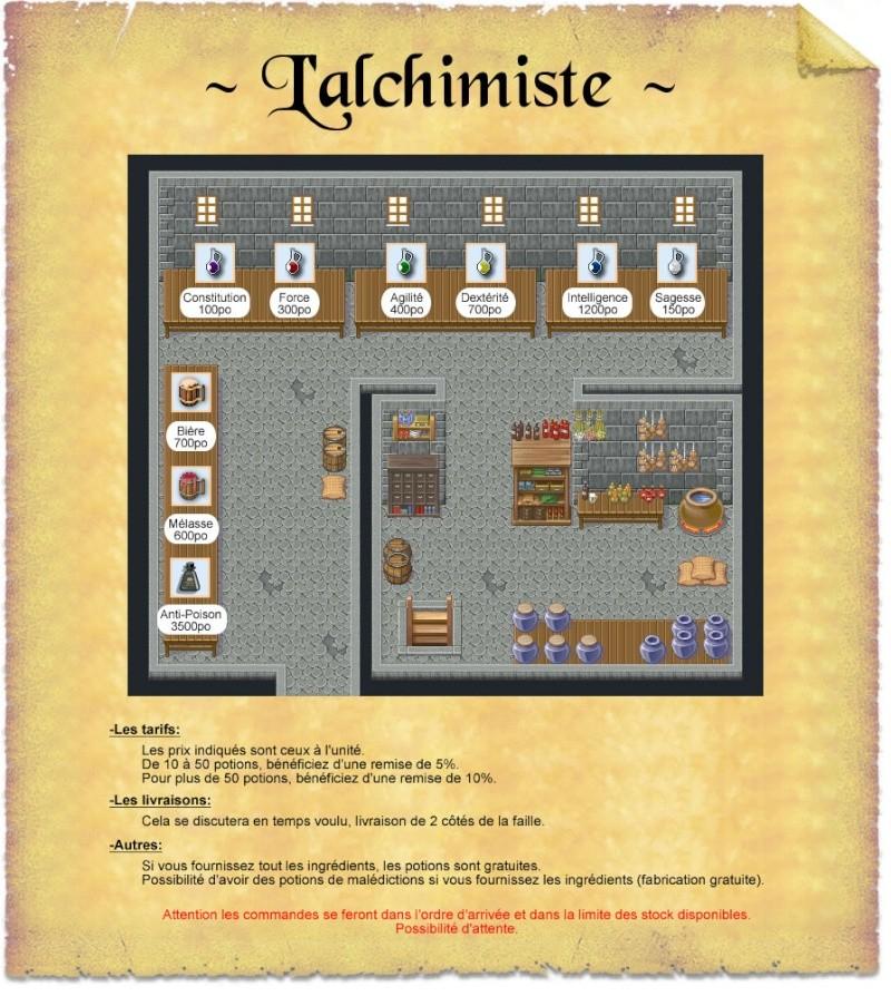 Alchimistes proposent leurs breuvages Alchim11