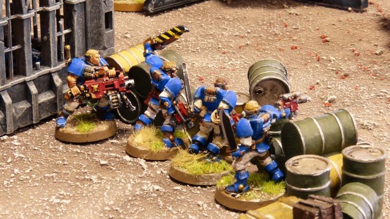 Warhammer 40K. Galerie de Batailles ! - Page 4 P1110141