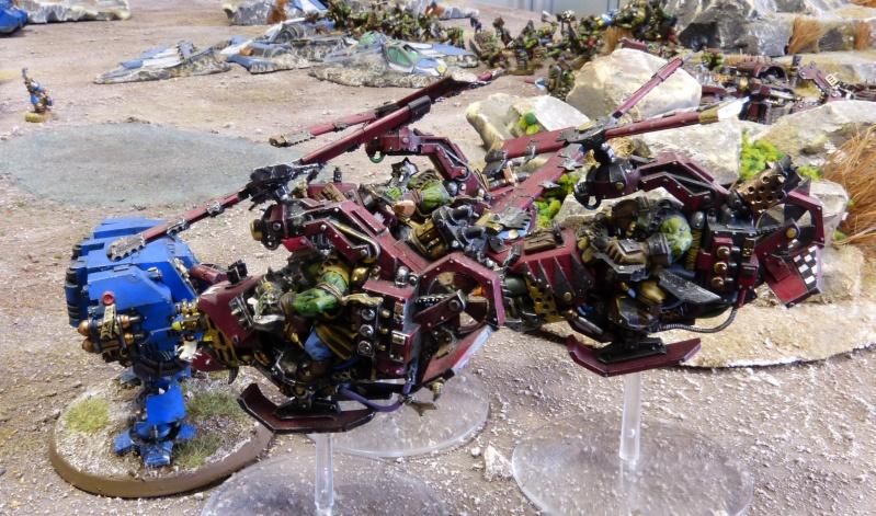 Warhammer 40K. Galerie de Batailles ! - Page 4 P1110146