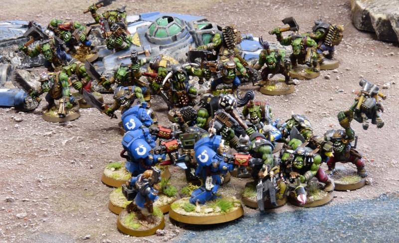 Warhammer 40K. Galerie de Batailles ! - Page 4 P1110151