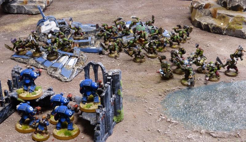 Warhammer 40K. Galerie de Batailles ! - Page 4 P1110152
