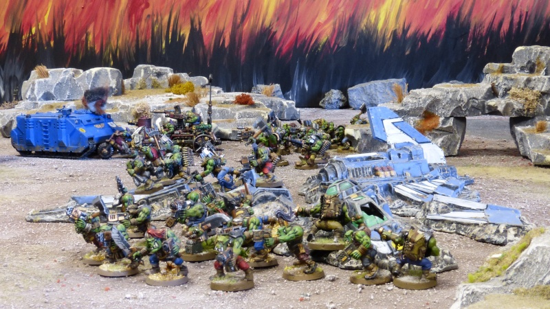 Warhammer 40K. Galerie de Batailles ! - Page 4 P1110153