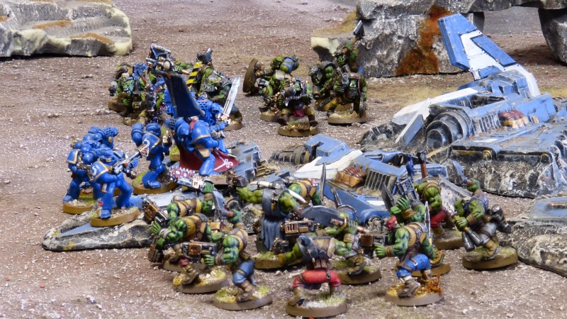 Warhammer 40K. Galerie de Batailles ! - Page 4 P1110154