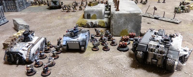 Warhammer 40K. Galerie de Batailles ! - Page 4 P1110724