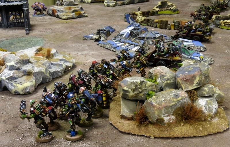 Warhammer 40K. Galerie de Batailles ! - Page 6 P1220018