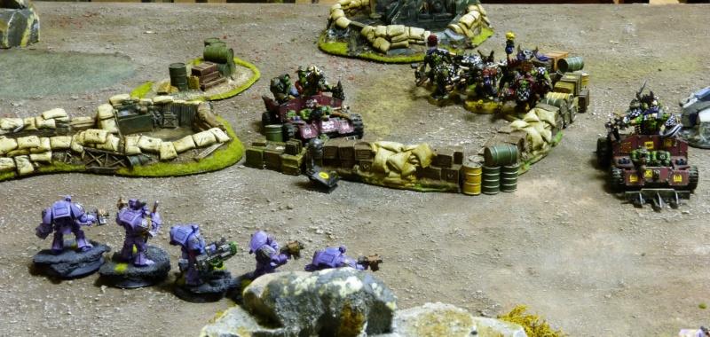 Warhammer 40K. Galerie de Batailles ! - Page 6 P1220020
