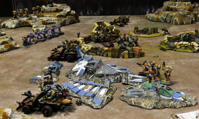 Warhammer 40K. Galerie de Batailles ! - Page 6 P1220023