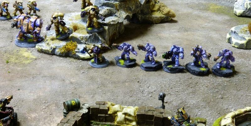 Warhammer 40K. Galerie de Batailles ! - Page 6 P1220025
