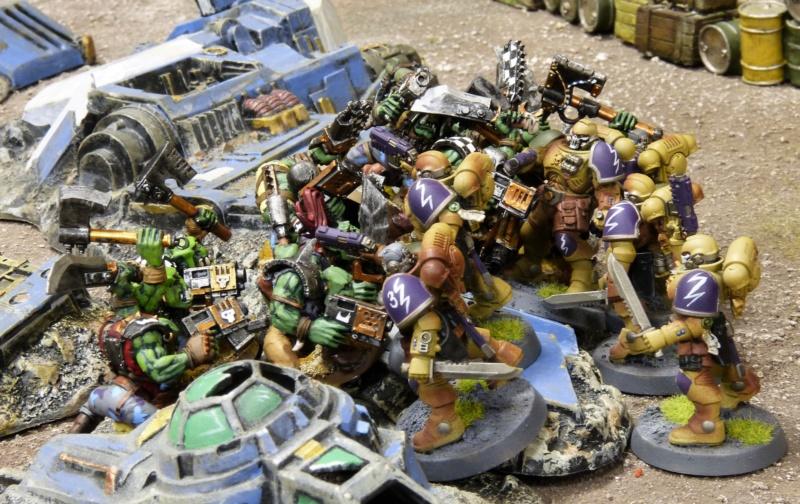 Warhammer 40K. Galerie de Batailles ! - Page 6 P1220027