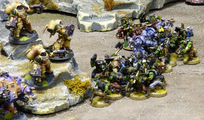 Warhammer 40K. Galerie de Batailles ! - Page 6 P1220030
