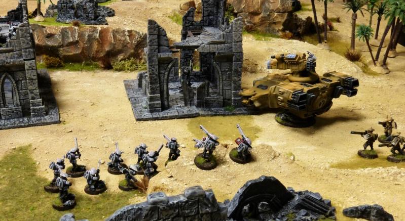 Warhammer 40K. Galerie de Batailles ! - Page 6 P1220115