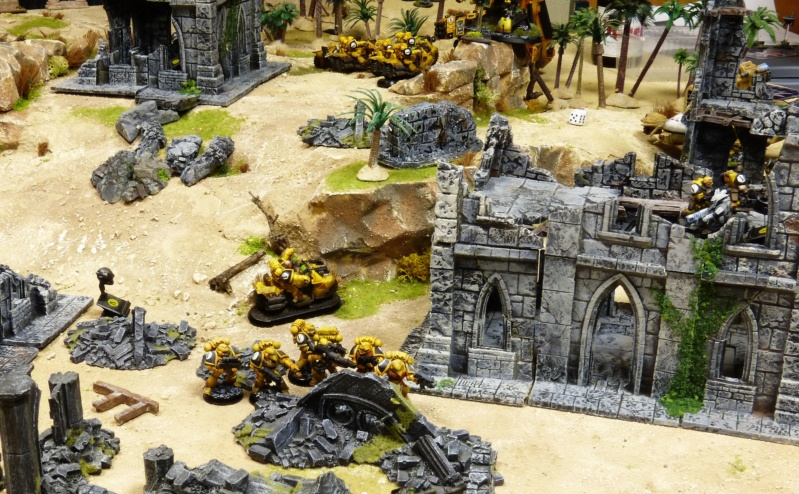 Warhammer 40K. Galerie de Batailles ! - Page 6 P1220121
