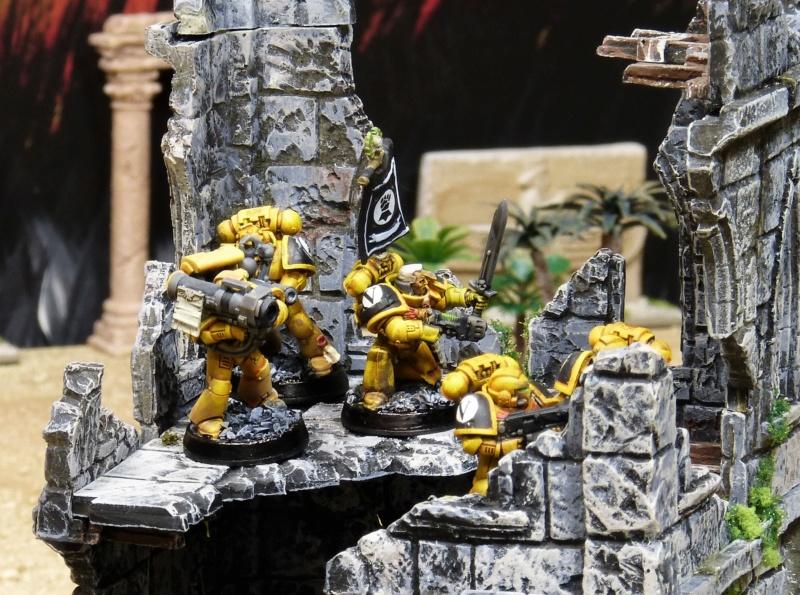 Warhammer 40K. Galerie de Batailles ! - Page 6 P1220123