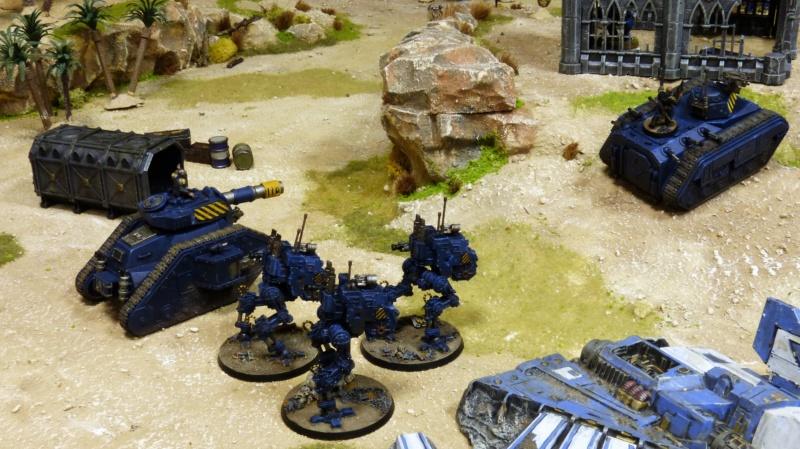Warhammer 40K. Galerie de Batailles ! - Page 6 P1220311