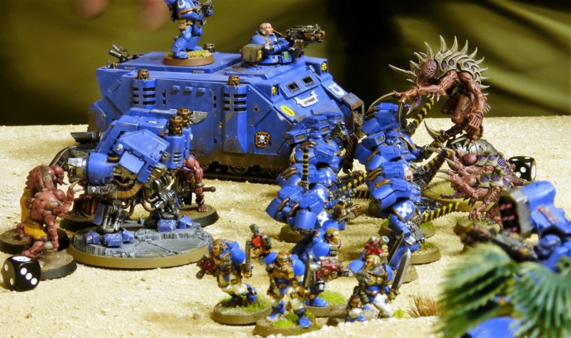 Warhammer 40K. Galerie de Batailles ! - Page 6 P1220316