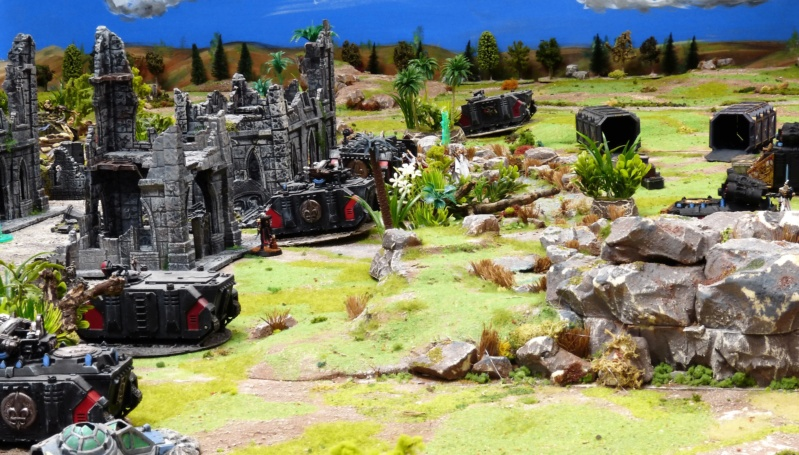 Warhammer 40K. Galerie de Batailles ! - Page 6 P1220418