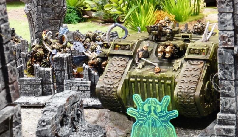 Warhammer 40K. Galerie de Batailles ! - Page 6 P1220423