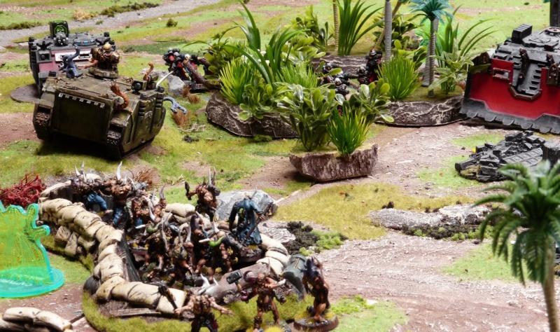 Warhammer 40K. Galerie de Batailles ! - Page 6 P1220428
