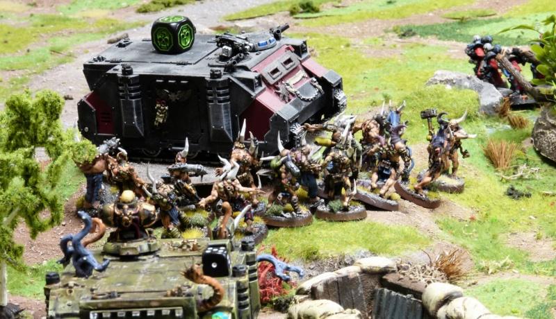 Warhammer 40K. Galerie de Batailles ! - Page 6 P1220429