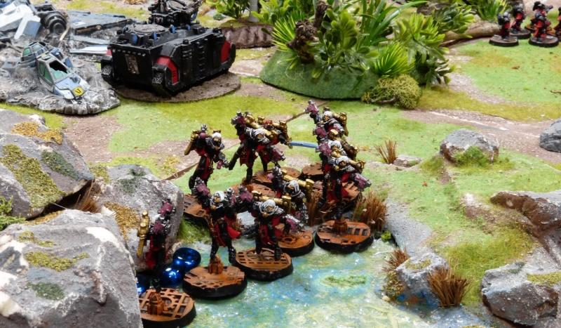 Warhammer 40K. Galerie de Batailles ! - Page 6 P1220433
