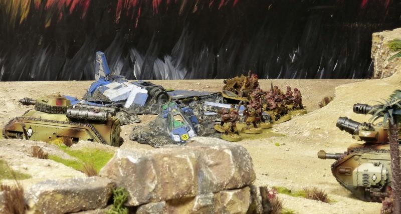 Warhammer 40K. Galerie de Batailles ! - Page 6 P1220588