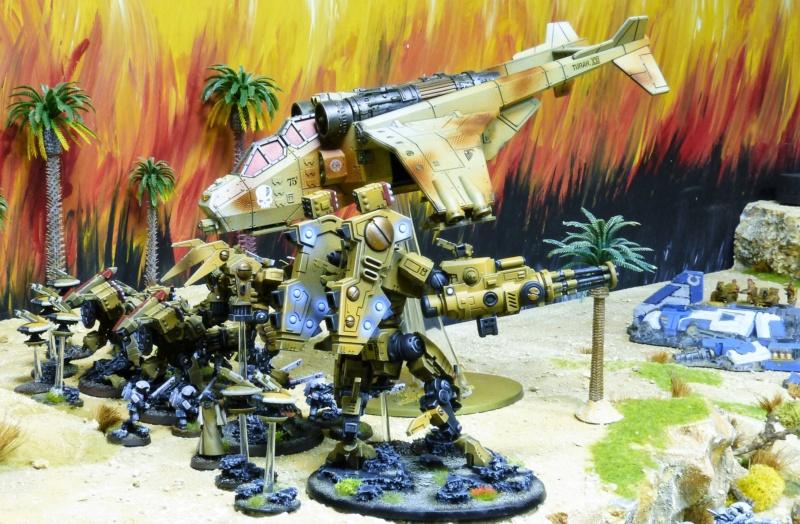 Warhammer 40K. Galerie de Batailles ! - Page 6 P1220611