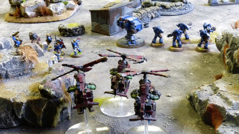 Warhammer 40K. Galerie de Batailles ! - Page 6 P1220961