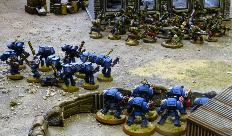 Warhammer 40K. Galerie de Batailles ! - Page 6 P1220966