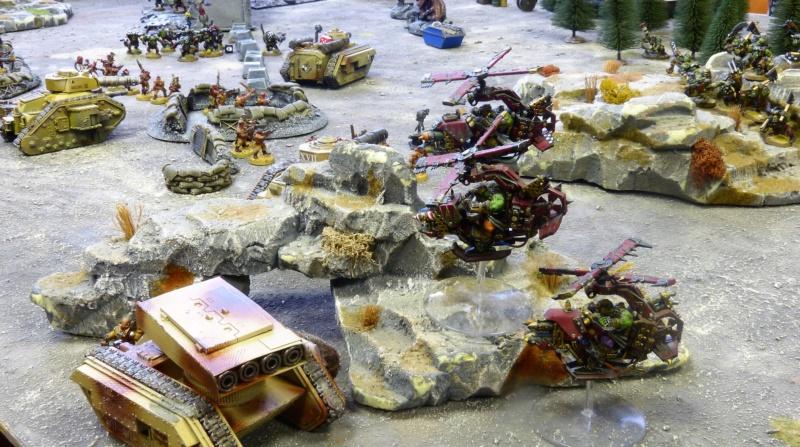 Warhammer 40K. Galerie de Batailles ! - Page 6 P1230020