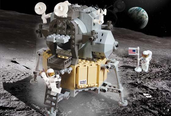 Apollo 11 en LEGO 10029-10
